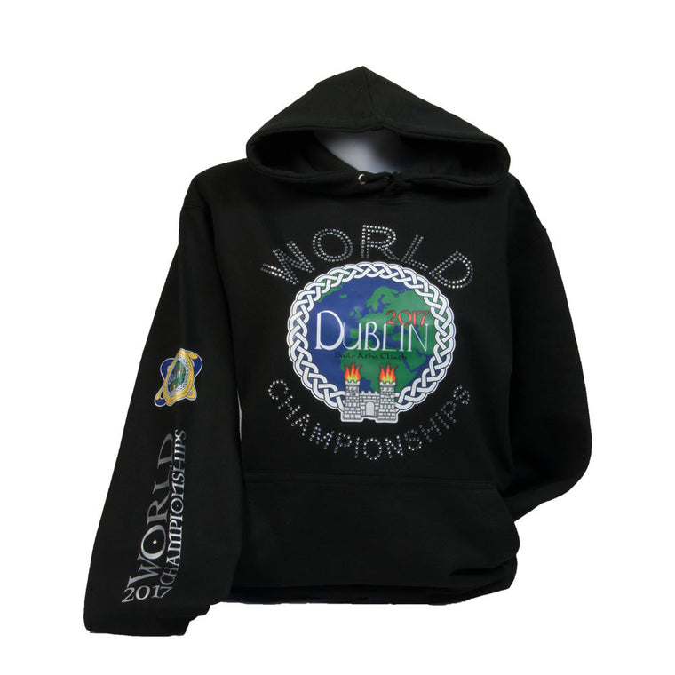 Worlds Standard Bling/Printed Hoodie Child
