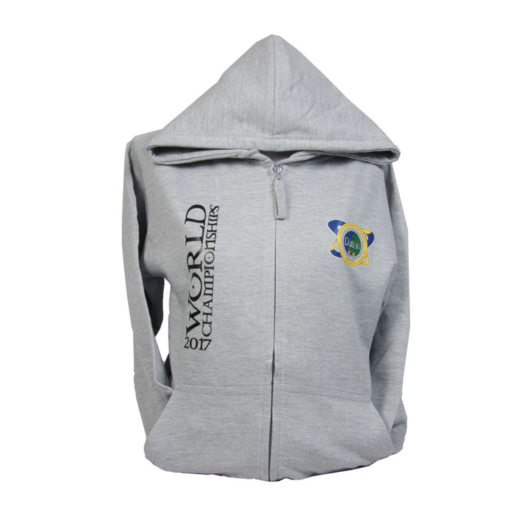 Worlds Zipped Hoodie (Child)