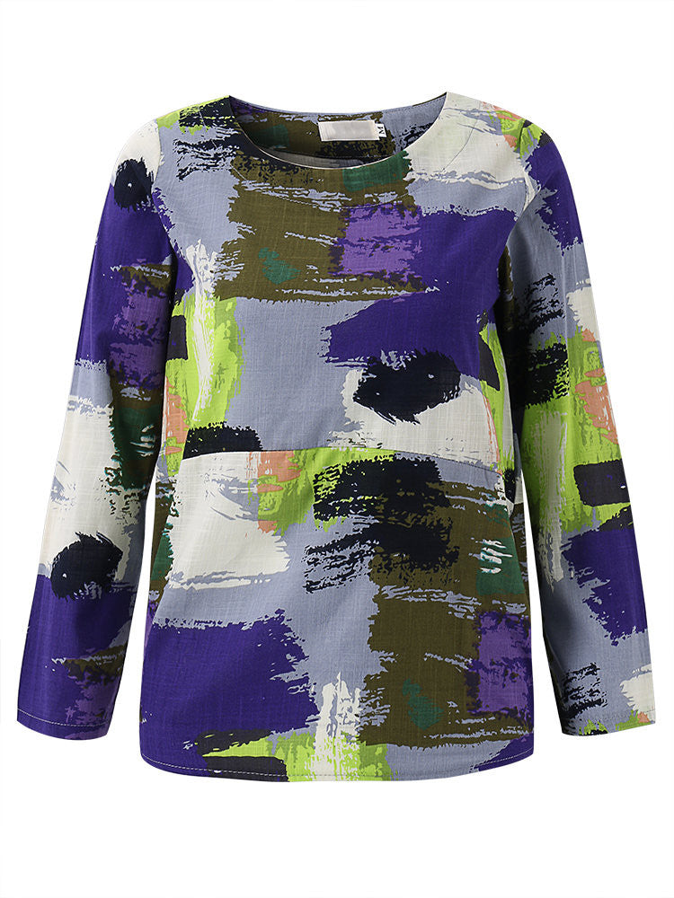 Abstract Women Blouse