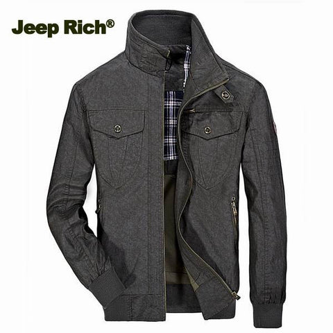 Jeep Rich Men's Vintage Style Jacket