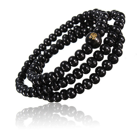 6mm*108 Sandalwood Buddhist Meditation Bead Bracelet