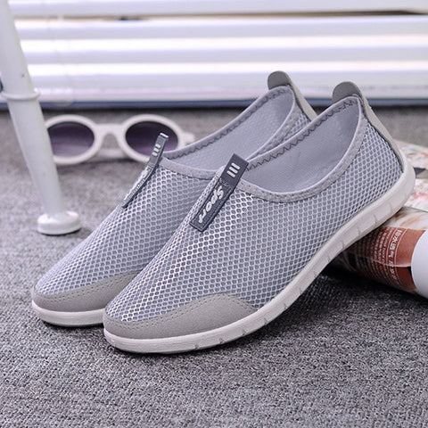 Breathable Lightweight Athletic Casual Flat Walking Shoes