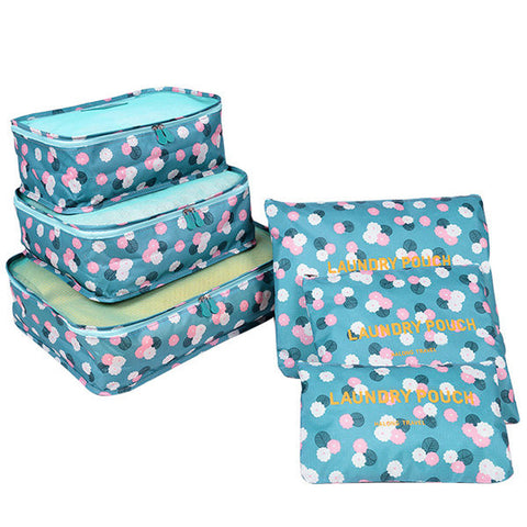 Alcina 6 PCS Travel Storage Bags For Women