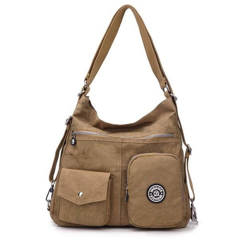 Quartilla Multi-Pocket Shoulder Bag For Women