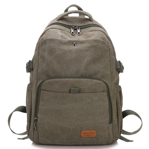 Rocco Canvas Big Travel Backpack For Women Men