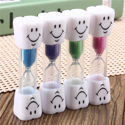 1 minute hourglass mini smiling face sand clock timer sandglass decor gift kitchen timming - Home Decor Australia