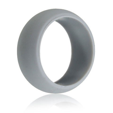 1Pc Size 12 Rubber Silicone Soft Band Ring