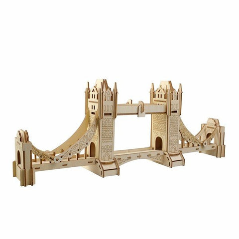 3D Jigsaw London Tower Bridge Woodcraft
