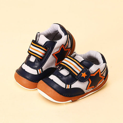 Star Anti Skid Sport Casual Baby Shoes Infant Sneakers
