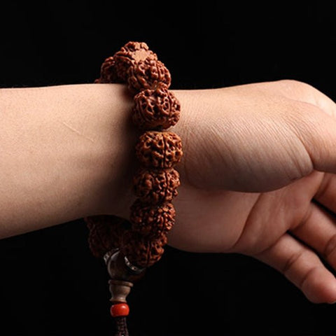 Bodhi Beads Prayer Elastic Bracelet