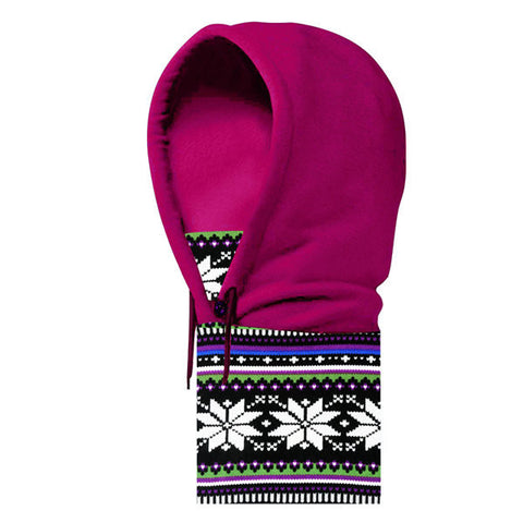 Men Women Full Face Mask Fleece Cap CS Neck Warmer Hood Winter Sports Ski Hats