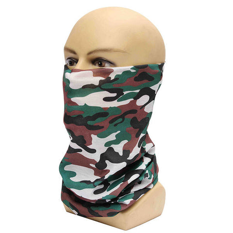 Men Outdoor Sun Protection Collar Cycling Multifunctional Decorative Scarf Neck Mask Scarf