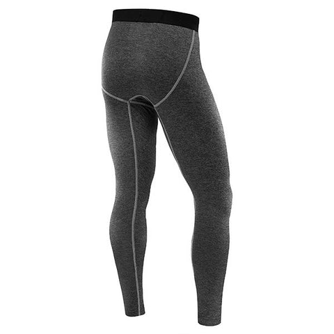 Mens Quick Dry Sports Tights Gym Pants Bodybuilding Quick-drying Skinny Legging Trousers