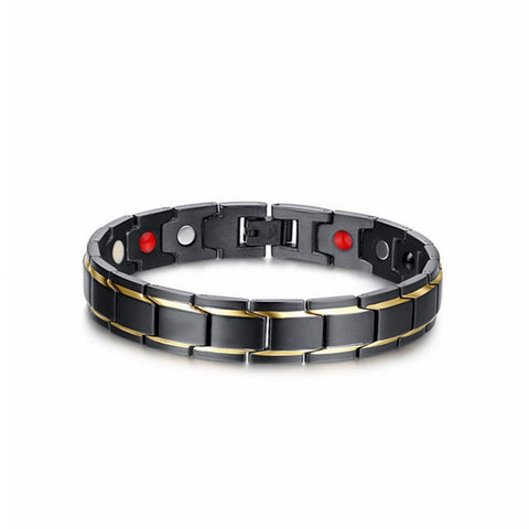 361L Stainless Steel Energy Magnetic Health Bracelet