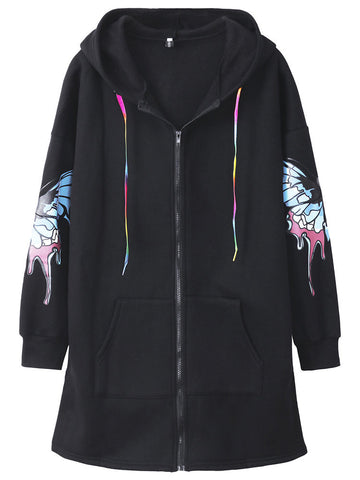 Ava Butterfly Hoodies