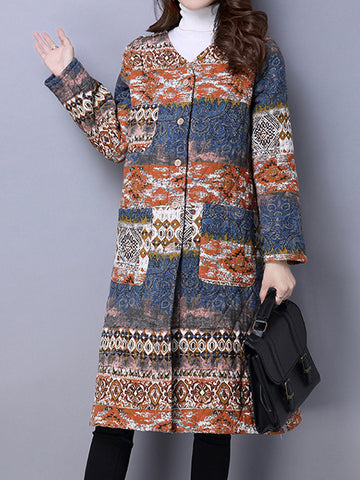 Avite Vintage Thicken Coat