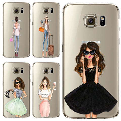 Phone Case for Samsung Galaxy S5 S6 S6Edge S6Edge and S7,  S7 Edge