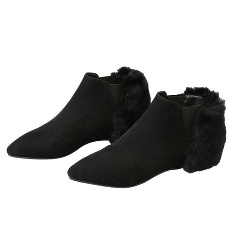 Annis Pointed Toe Ankle Boots