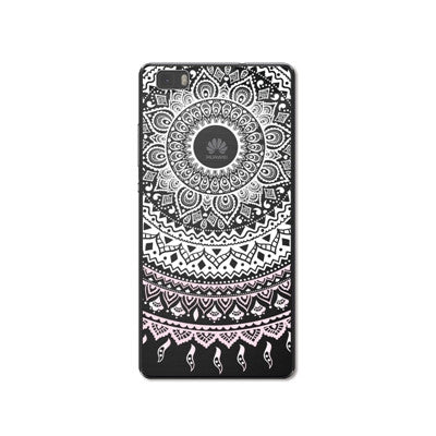 Hollow HENNA Phone Case For Huawei P8 Lite For Huawei P9 Lite