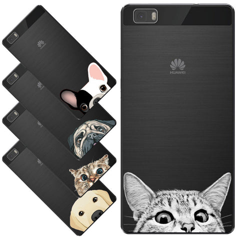 Dog Phone Case For Huawei P8 Lite For Huwei P9 Lite