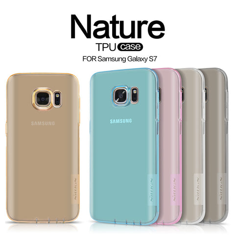Clear Ultra Thin Back case for Samsung S7 & S7 Edge