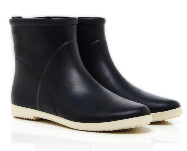 Minimalist Black + White Ankle Boot
