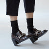 Swedish Stockings Freja Bio Wool Socks Black