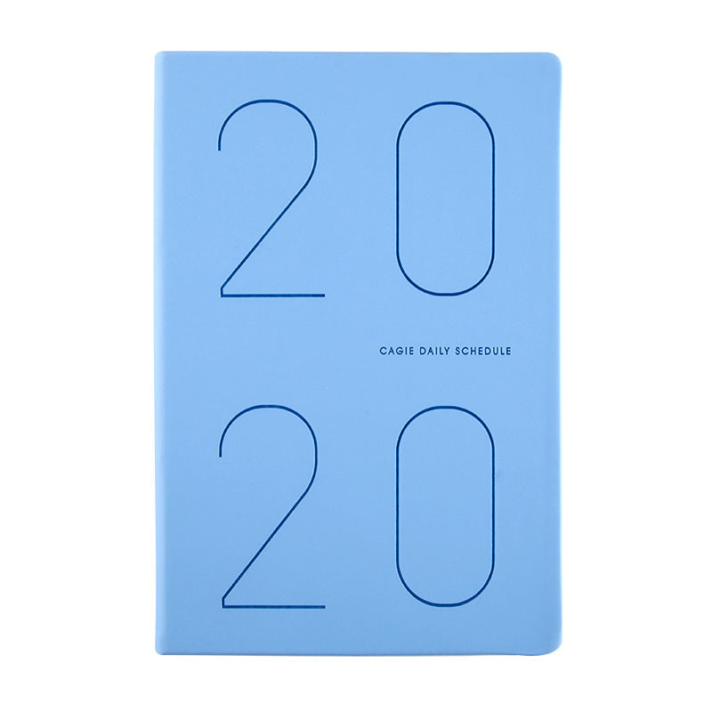 2020 schedule notebook