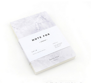 Korean marble stationery notebook Smallstudent notebook