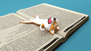 3D 3D animal bookmarks