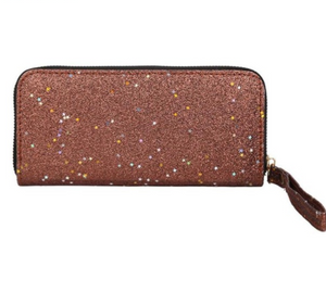 Shining Sequins Long Purse Wallets