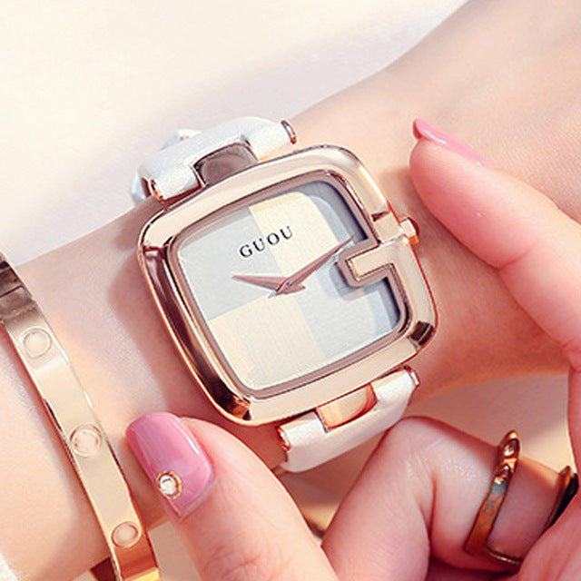 Square bracelet watch