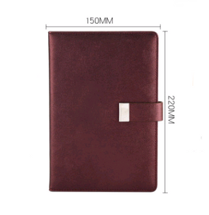 Buckle notebook notebook notepad hard leather simple university birthday book