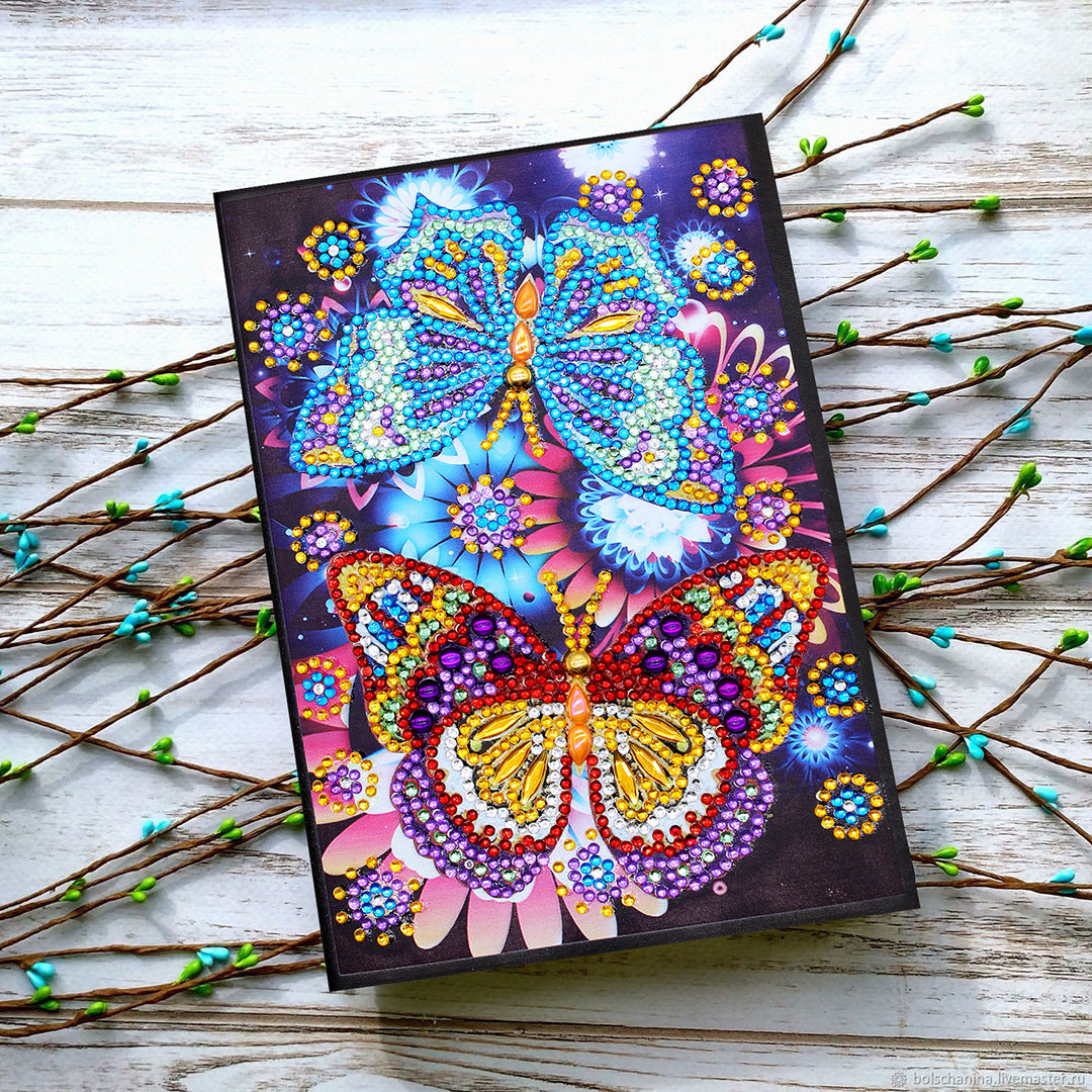 DIY notebook diamond painting A5 notebook 64 page NB13