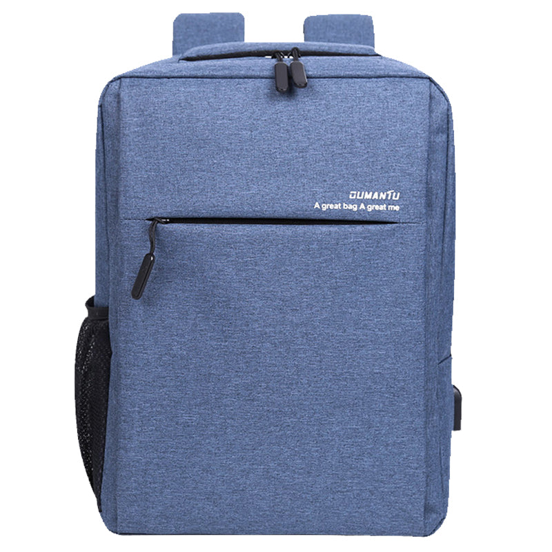 Waterproof and shockproof rechargeable backpack laptop bag