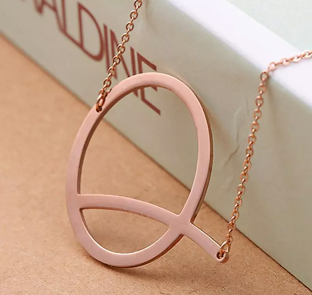Exquisite Monogram Necklace