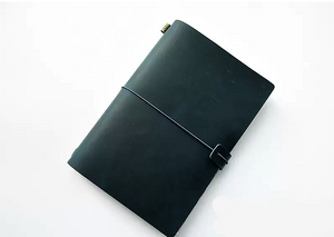 Handy Leather Bound Travel Journal