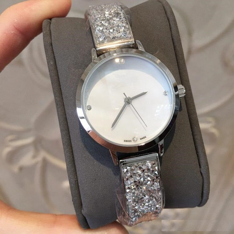Crystal Strap Watch