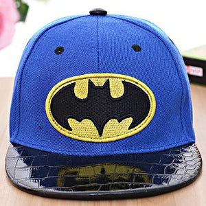 Children's spring matching Korean cowboy duck tongue baseball cap boy baby baby Batman Spring Hat