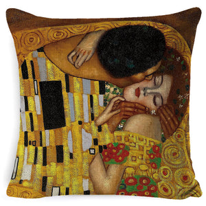 Couple smoking picture pillow pillow cushion