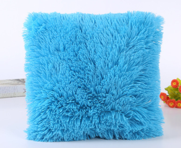 Wholesale pillowcase Plush sea lion cashmere pillowcase Spot cute plush candy color pillowcase