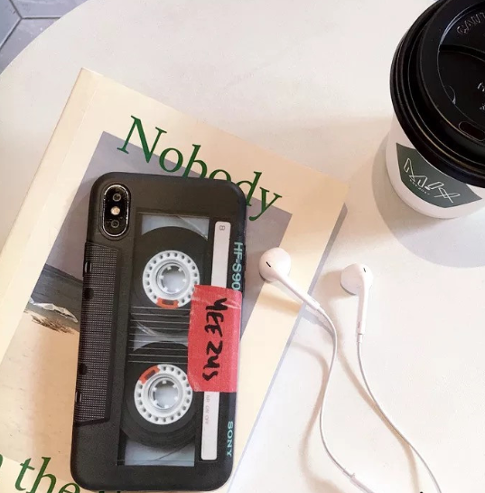 Tape phone case