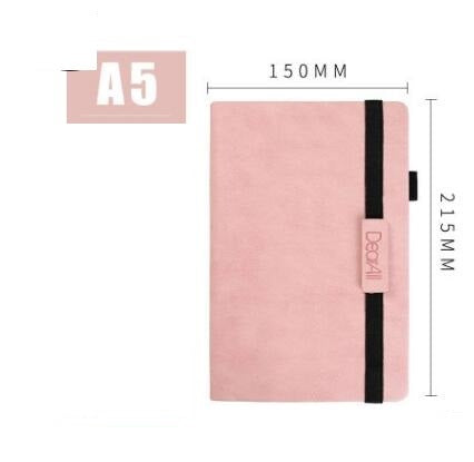 Notebook Customized Business Laptop Customized A5 Laptop Ribbon Diary PU Small Books Wholesale