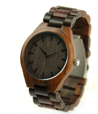 The cross-border supply REDEAR brand of natural raw ebony lovers watch manufacturers spot wholesale source of explosion