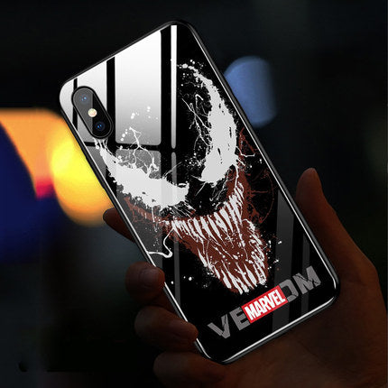 Spiderman glowing phone case