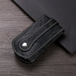 Car key bag with belt waist keychain