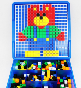 Educational toy nail puzzle