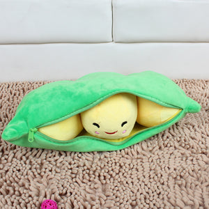 Plush Toys Wholesale Girls Generation Large Pea Pillow Cushion Creative Gifts Pea Pod Factory Direct