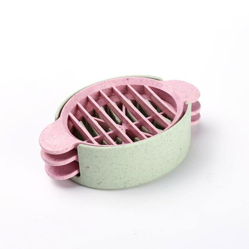 Wheat straw egg cutter egg splitter