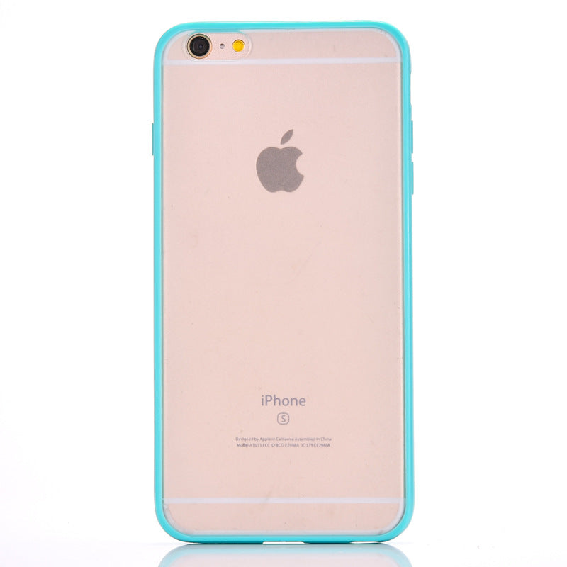 Applicable transparent Xsmax mobile phone case 6Plus set 7plus ultra-thin 6s matte silicone 8Plus mobile phone case